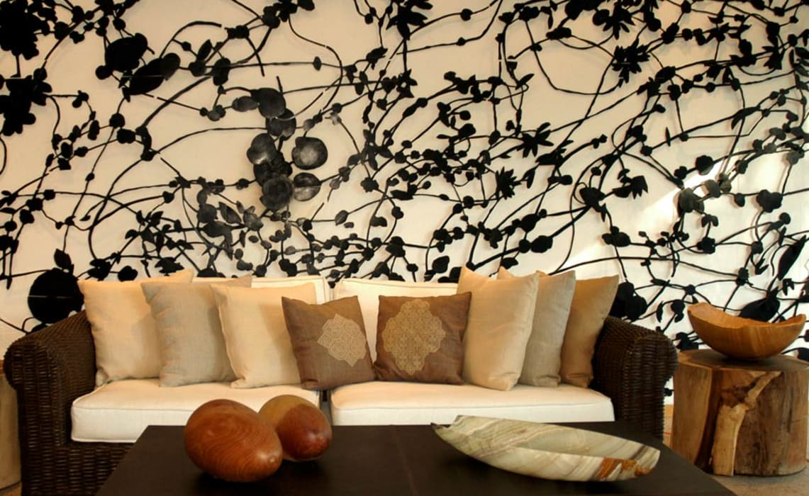 Living room by Olivia Aldrete Haas, Modern