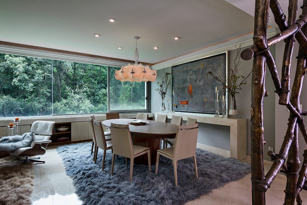 Dining room by Olivia Aldrete Haas,