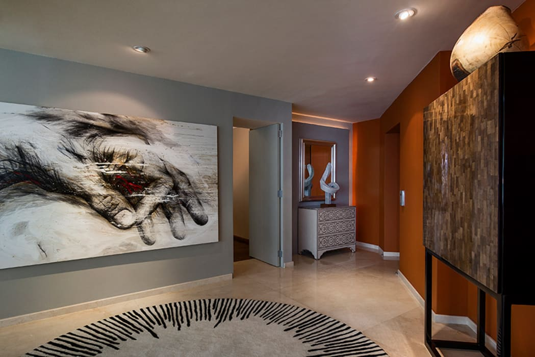 Moderne Wohnzimmer von Olivia Aldrete Haas Modern