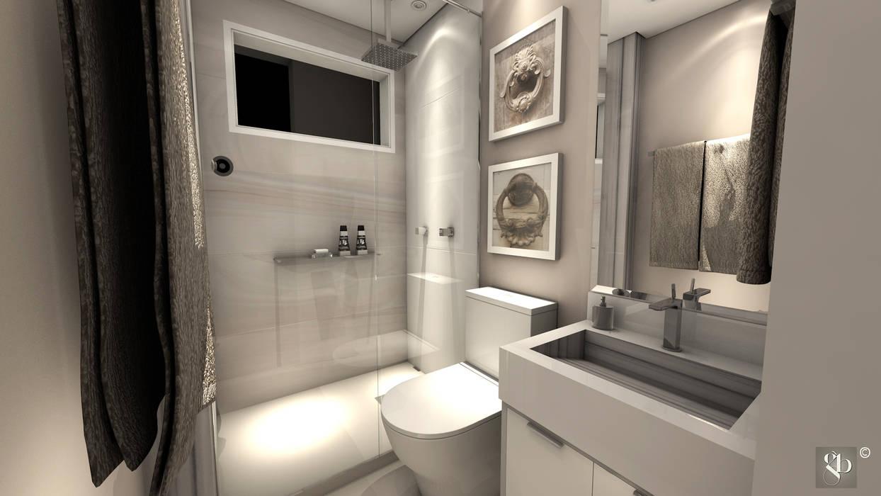 Salle de bains de style  par Gustavo Bodini | Designer de Interiores,