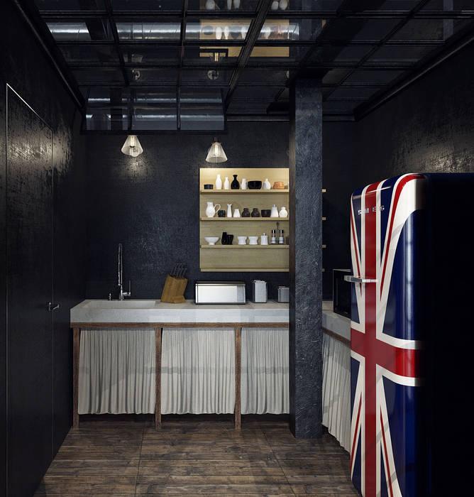Офис на Мясницкой Офисные помещения в стиле лофт от Хороший план Лофт