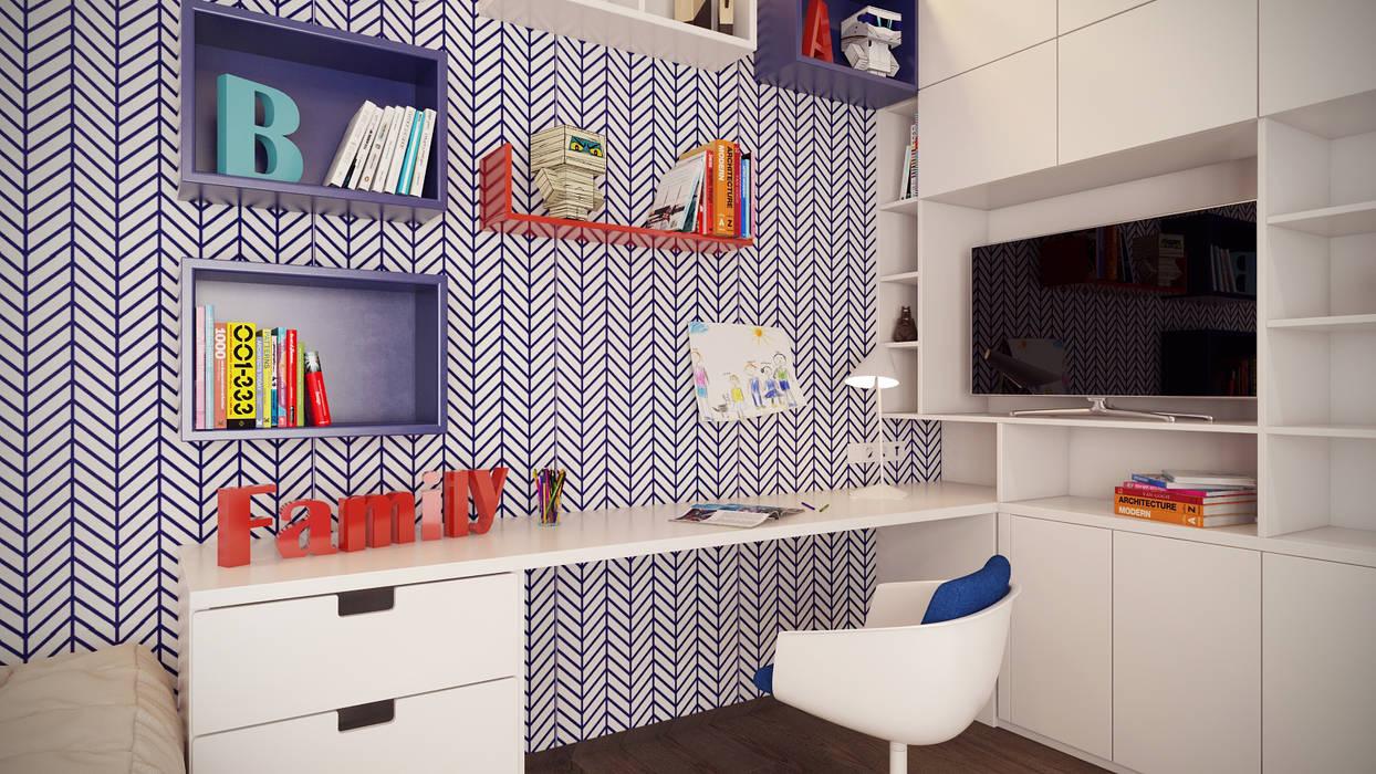 Artichok Design Minimalist nursery/kids room Wood Multicolored