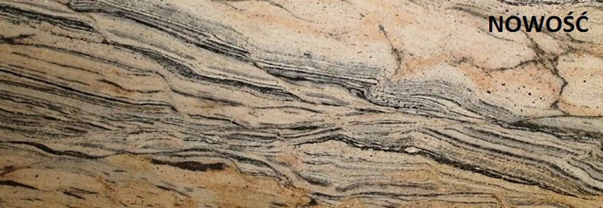 Merkam - Łódź ul. Św. Jerzego 9 KitchenBench tops Granite Beige
