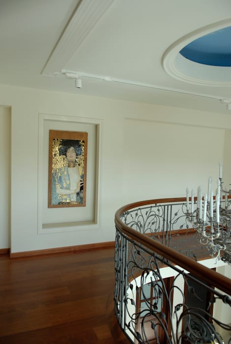 Klasik Koridor, Hol & Merdivenler Pracownia Mozaiki M Klasik Cam