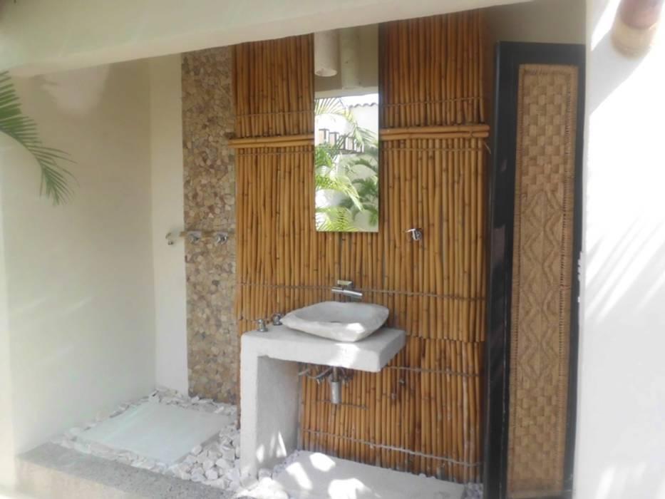 baño artesanal bello diseño! Baños eclécticos