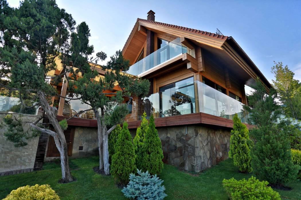 Maisons originales par Pavelchik Design Éclectique