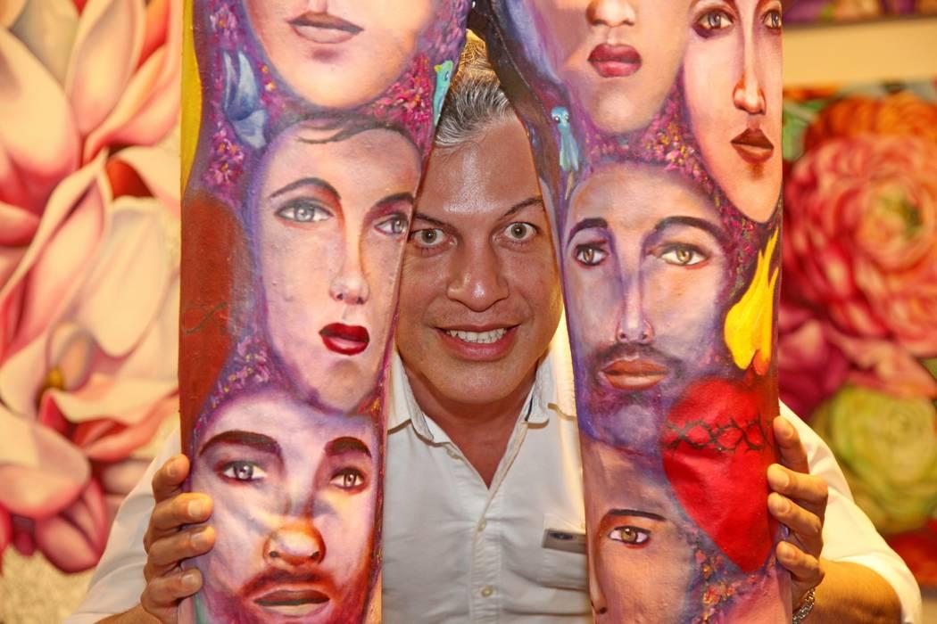 """Exposición Internacional de Arte """"ARTISTES DU MONDE"""" 2015, Cannes - Francia Filiberto Montesinos ArteCuadros y pinturas"""