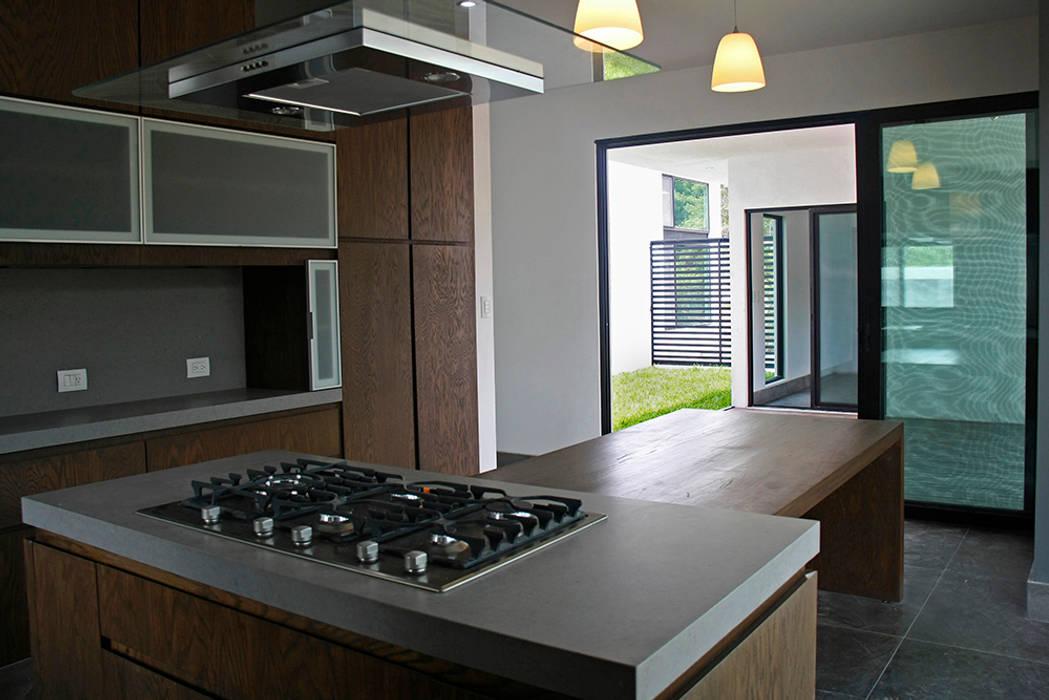 Cocina Cocinas modernas de Narda Davila arquitectura Moderno Madera Acabado en madera