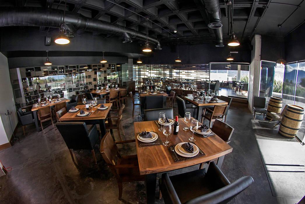 Restaurante Asador 35 Gastronomía de estilo moderno de Narda Davila arquitectura Moderno Madera Acabado en madera