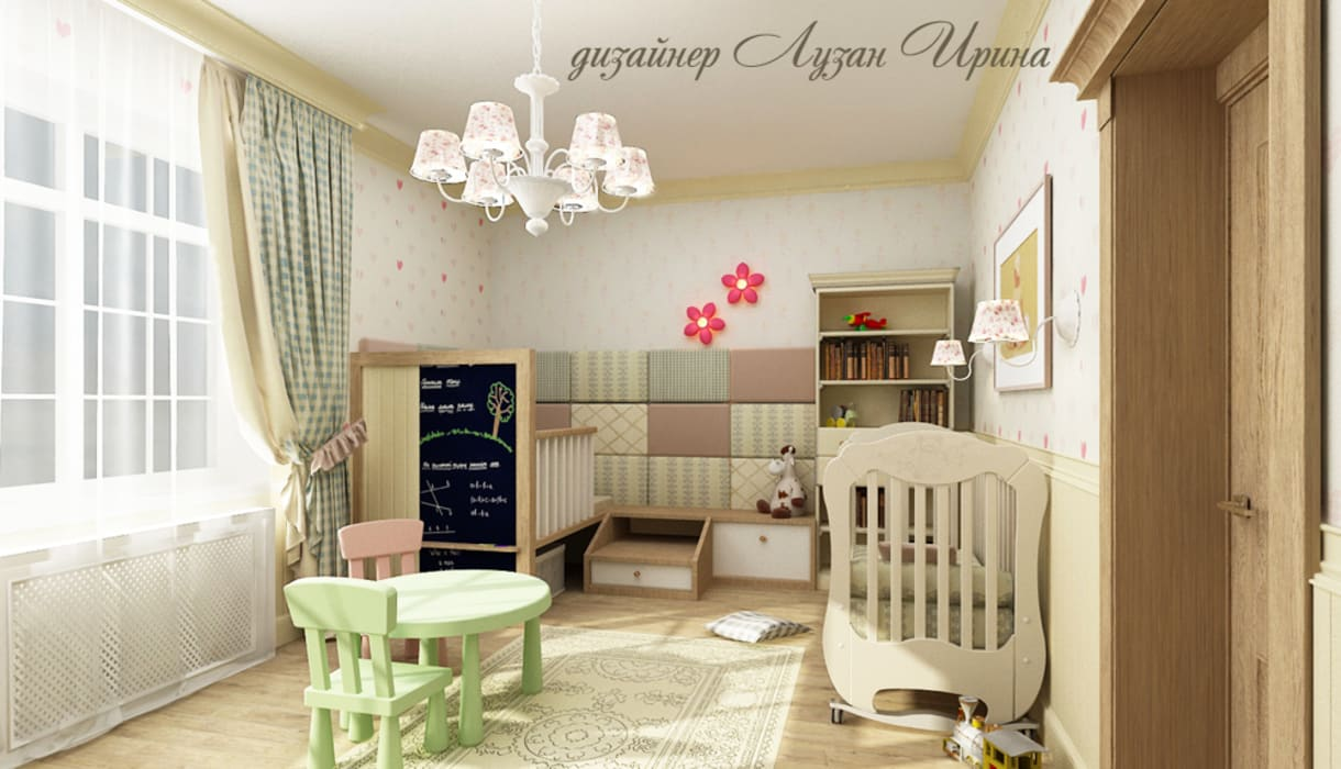 Classic style nursery/kids room by Творческая мастерская Лузан Ирины Classic