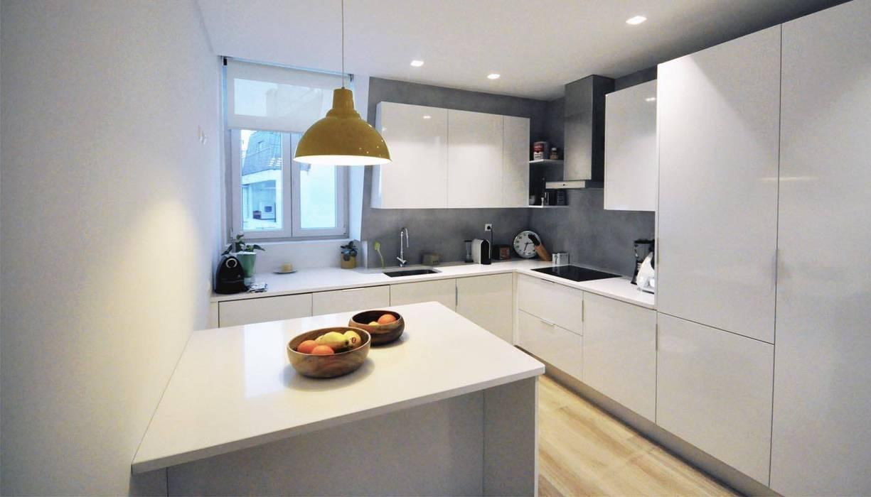 Estrela | AP MARQA - Mello Arquitetos Associados Cozinhas modernas
