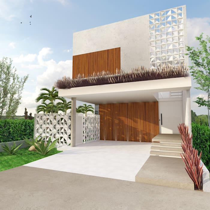 Rumah Modern Oleh Macro Arquitetos Modern