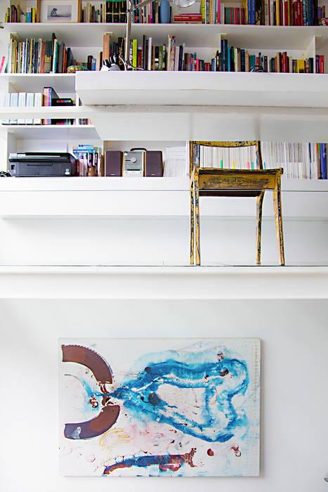 Oficinas y bibliotecas de estilo moderno de MeMo arquitectas Moderno