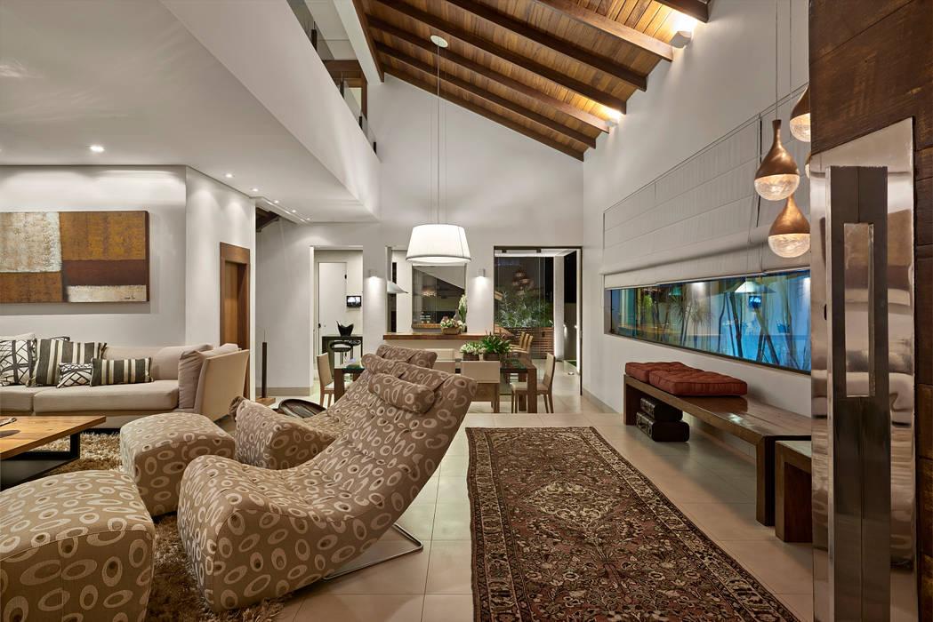 Isabela Canaan Arquitetos e Associados Living room
