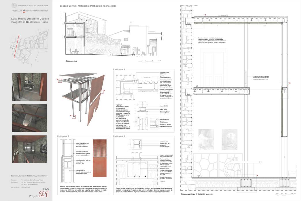 Restoration And Architectural Design Casa Museo Antonino Uccello