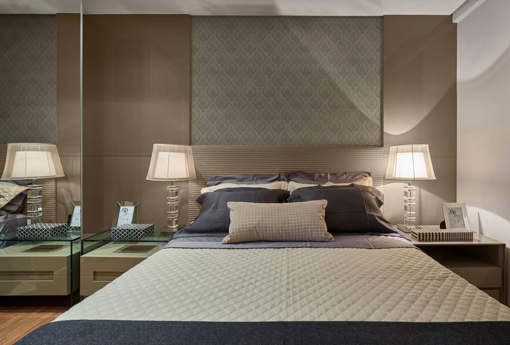 Chambre de style  par Isabela Canaan Arquitetos e Associados,
