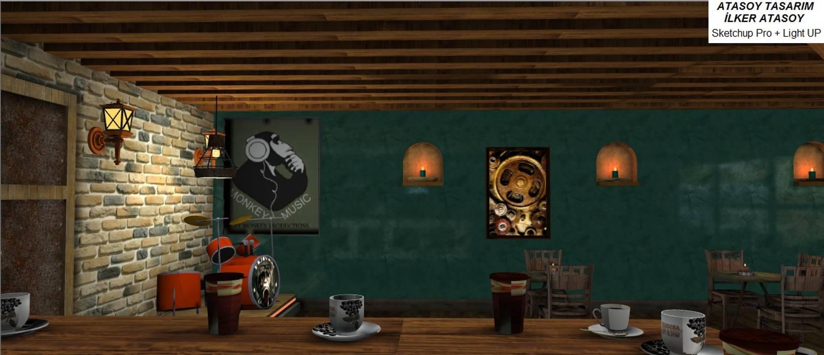 FOX IDEA – CAFE INDUSTRIAL:  tarz Duvarlar,