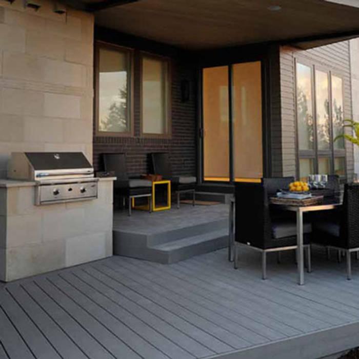 Dtzalam Balcones y terrazas modernos de D'Tzalam - Diseño en Pisos Moderno