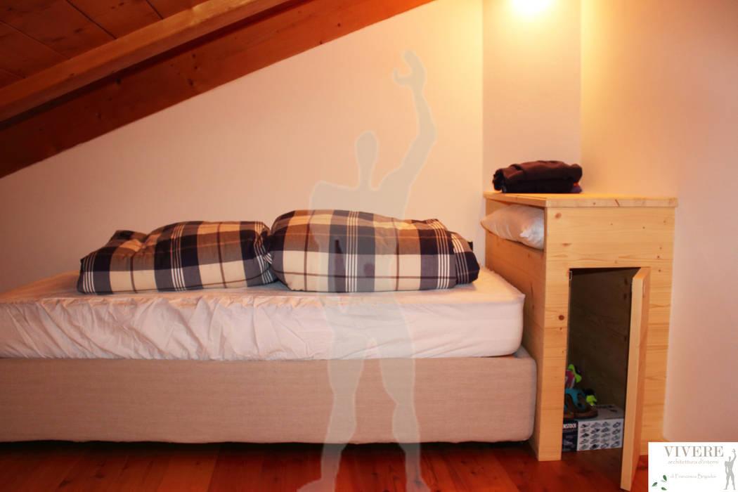 Camera da letto singola camera da letto in stile di arredamenti brigadoi homify - Camera da letto singola ...