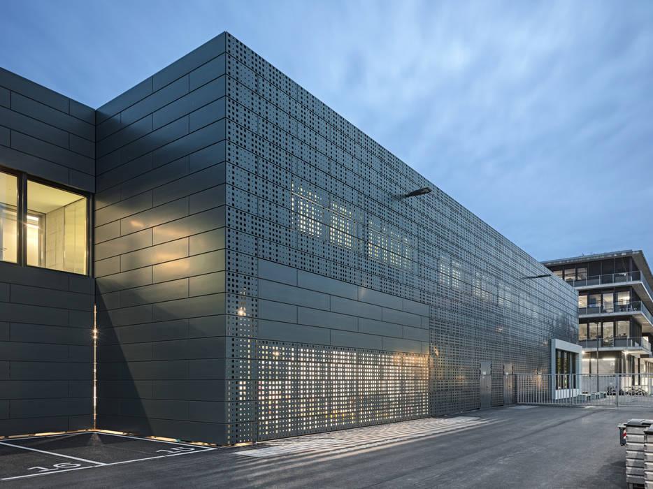 Architektur österreich   Unterwerk Und Netzstutzpunkt In Zurich Oerlikon Geschaftsraume