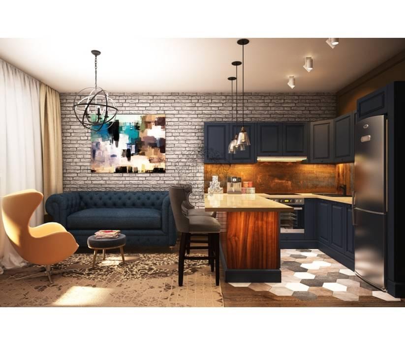 Ruang Keluarga Gaya Industrial Oleh Home Emotions Industrial