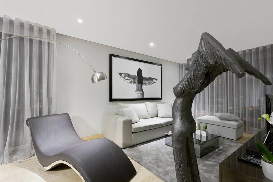 Spazio Park Salas de estar modernas por Sónia Cruz - Arquitectura Moderno