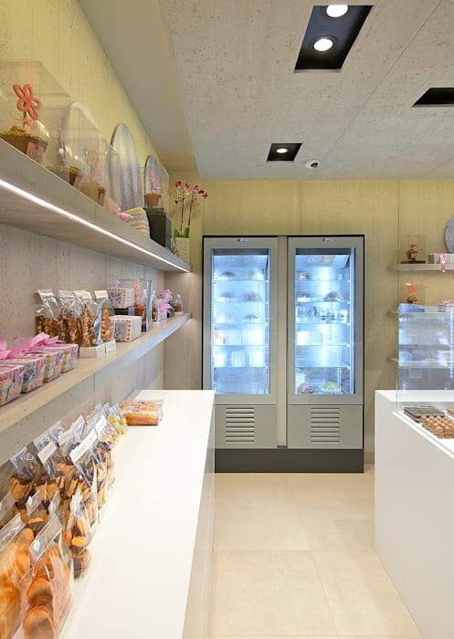Chocolaterie Seynaeve: Cuisine de style de style Moderne par Concrete LCDA