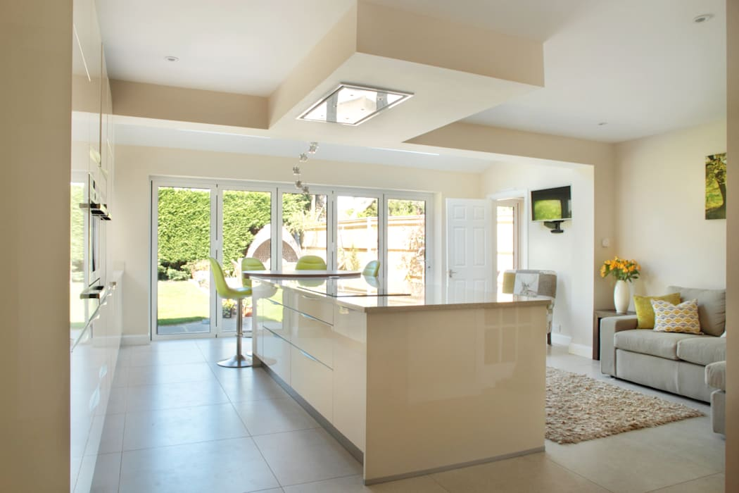 Clean Lines in the Chalfonts Dapur Modern Oleh in-toto Amersham Modern