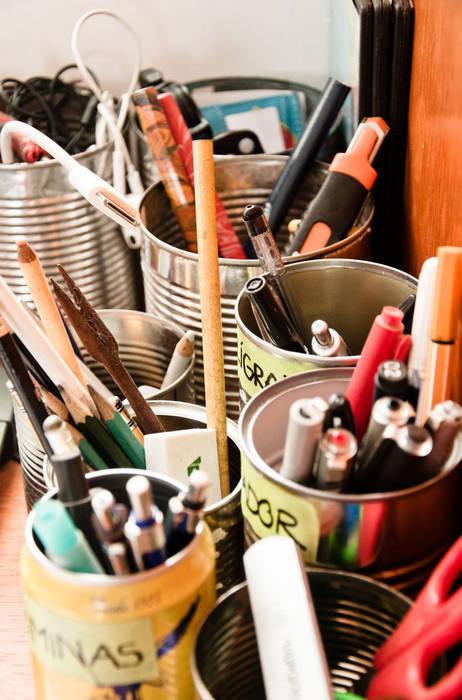 Organizadores reciclados: Estudio de estilo  por PUNCH TAD