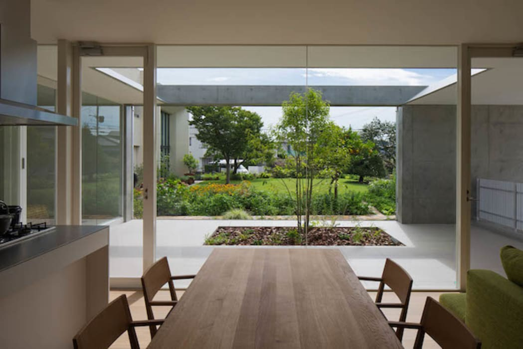 Ruang Makan Minimalis Oleh MANI建築デザイン事務所 Minimalis