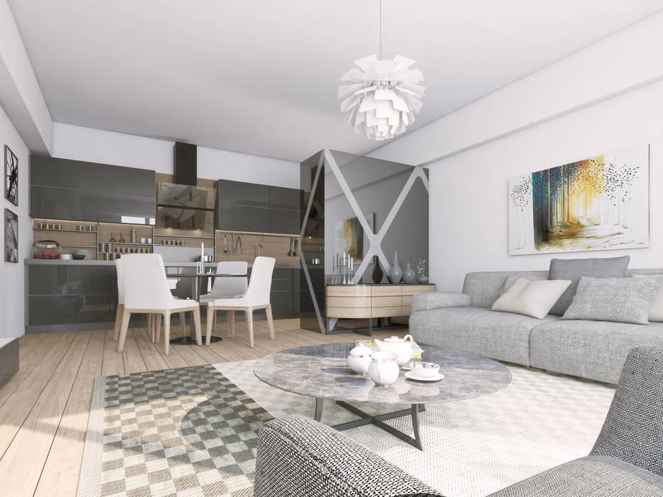 Oksijenn Modern living room