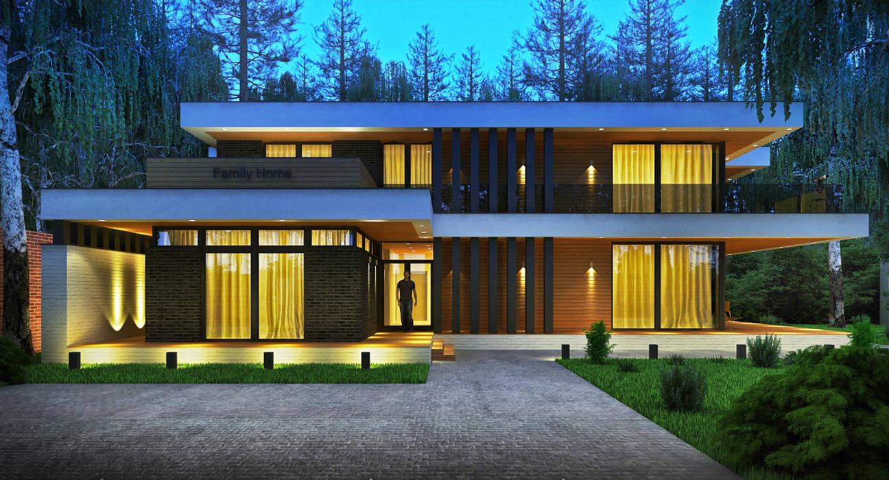 Maisons modernes par Sboev3_Architect Moderne