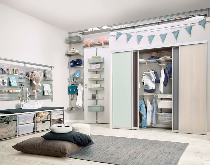 Elfa Deutschland GmbH Nursery/kid's roomStorage