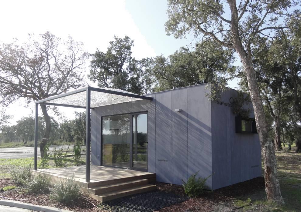 Vista Exterior: Casas  por Plano Humano Arquitectos,Minimalista