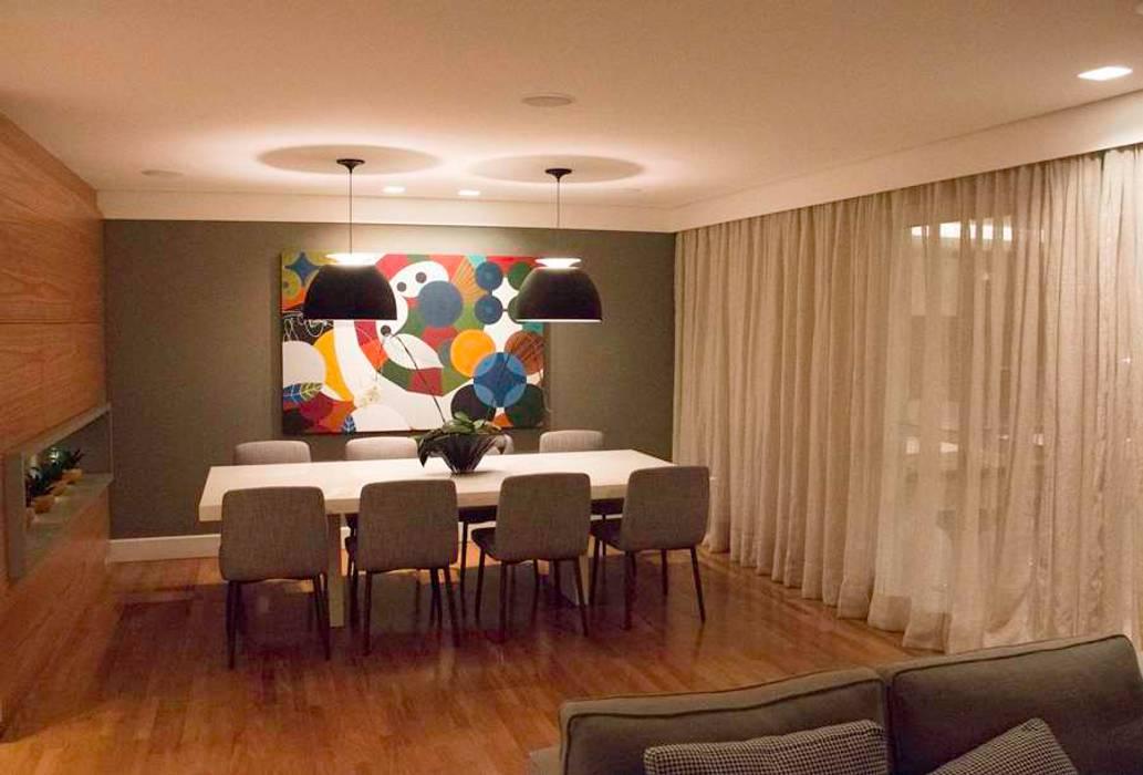 MONICA SPADA DURANTE ARQUITETURA Modern dining room