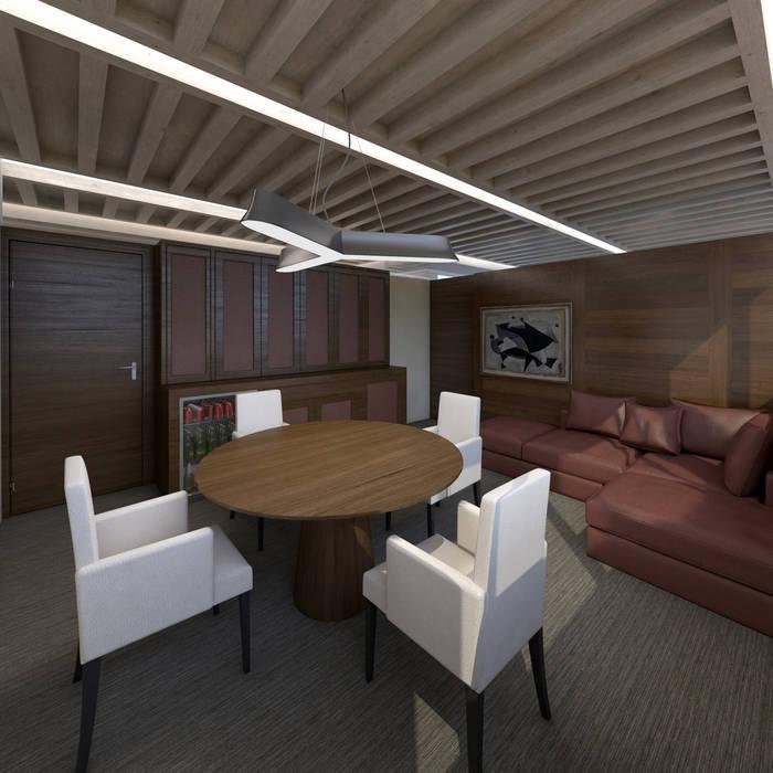 Oficinas Forte Universal-Boue Arquitectos : Edificios de Oficinas de estilo  por Boué Arquitectos