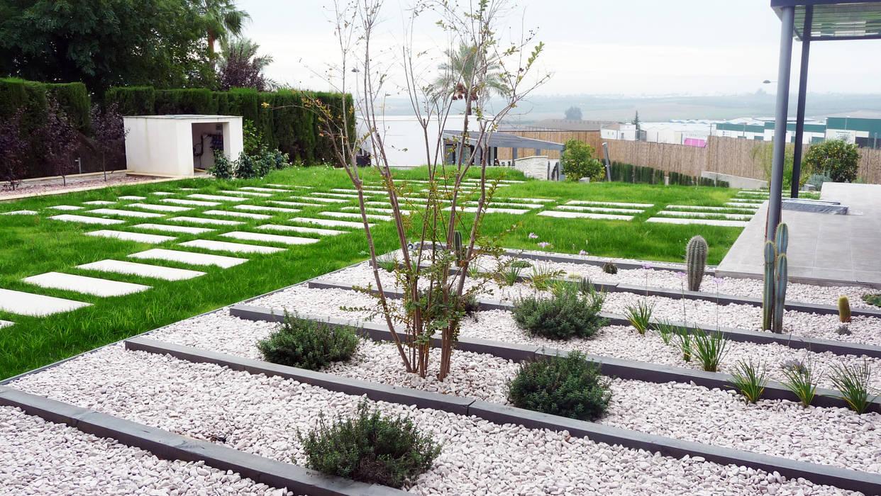 Jardines de estilo moderno de FABRICA DE ARQUITECTURA Moderno