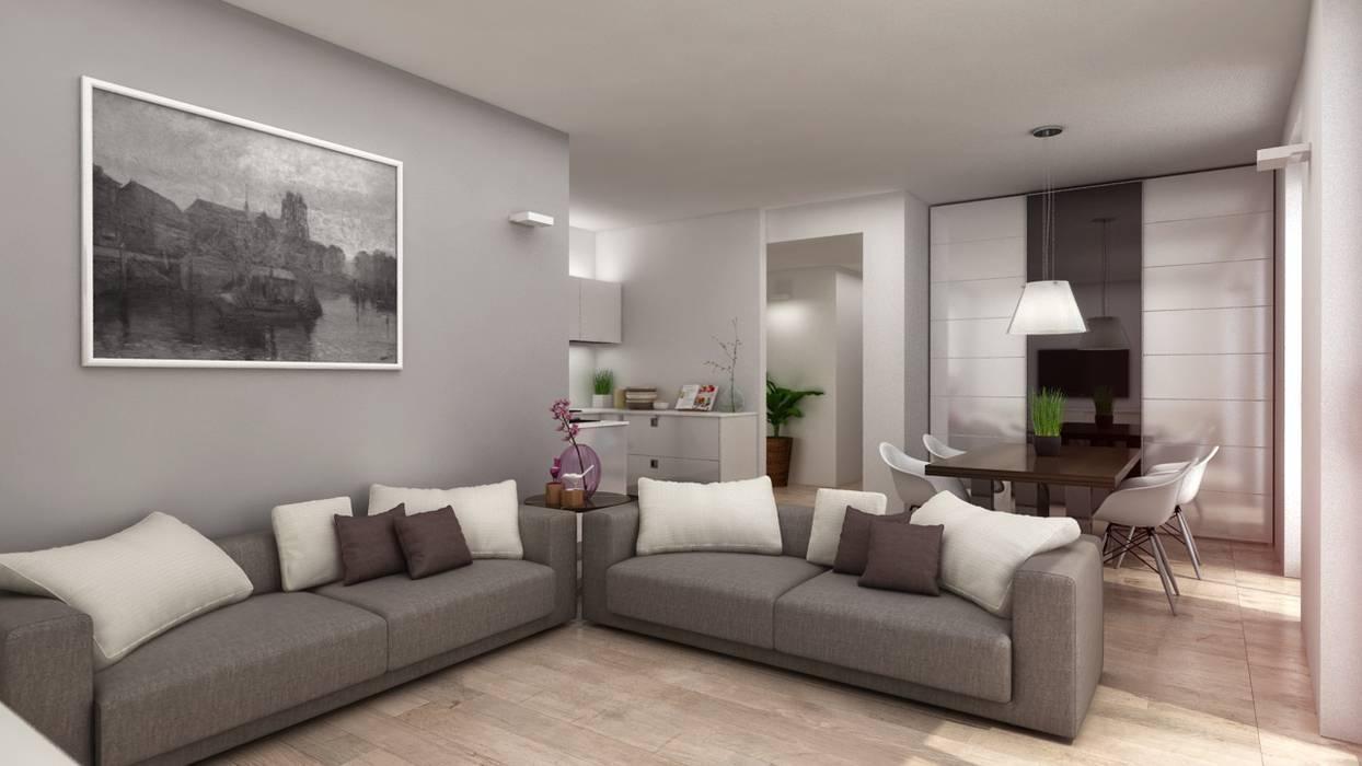 Visualizzazioni interni case in stile di for Foto case interni