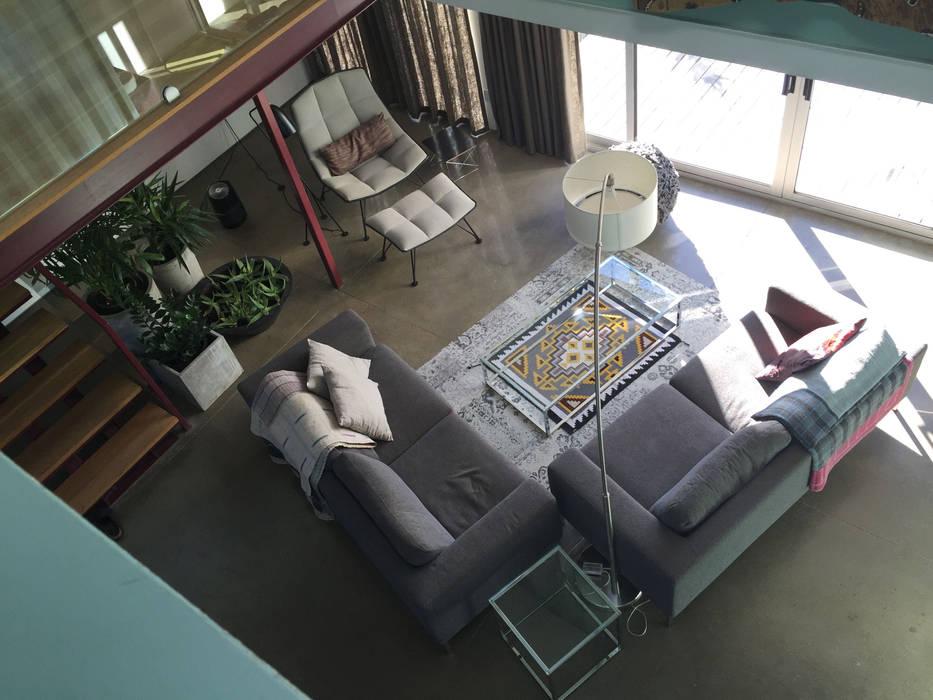 Living Room from above Nowoczesny salon od Ecosa Institute Nowoczesny