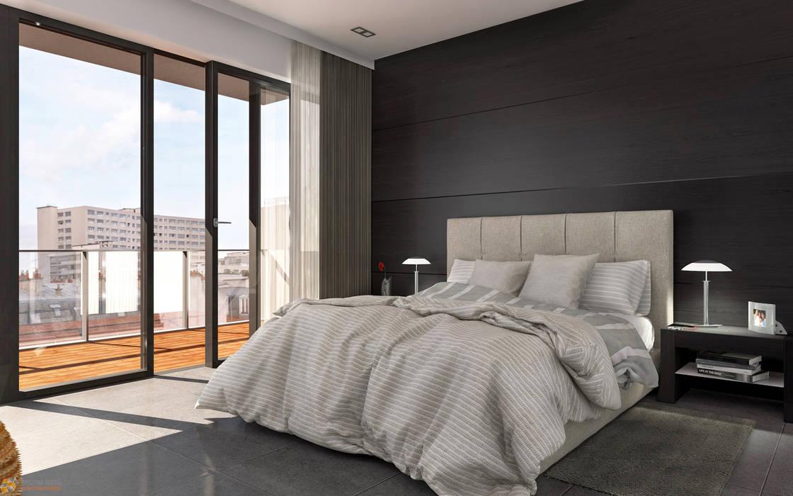 Stanza da letto - milano: camera da letto in stile di ...