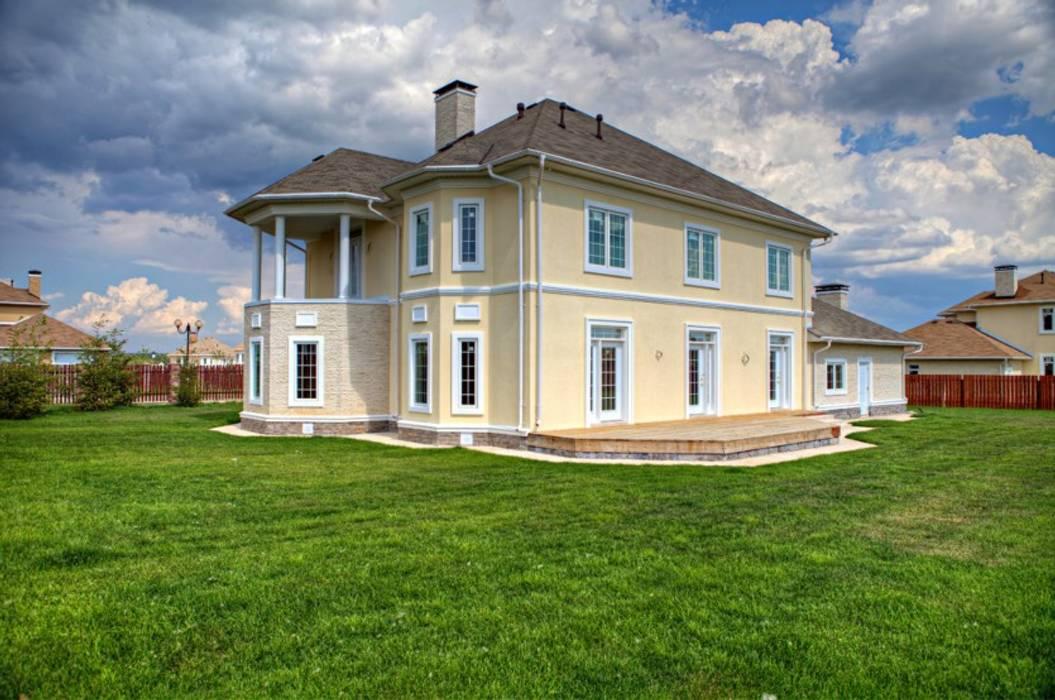 Дизайн   дома в классическом стиле , 370 кв. м в, Московская область : Дома в . Автор – Ad-home