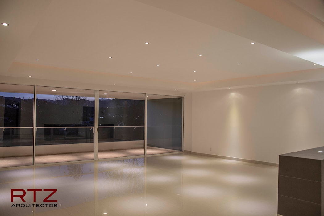 Modern Walls and Floors by RTZ-Arquitectos Modern