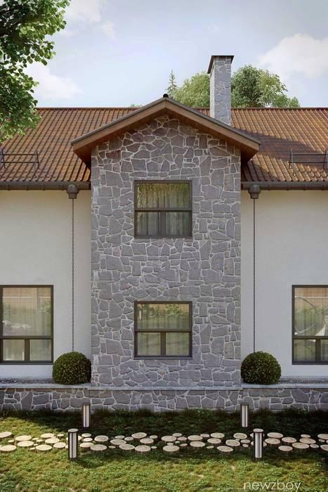 Mediterranean style house by Yurii Hrytsenko Mediterranean Stone