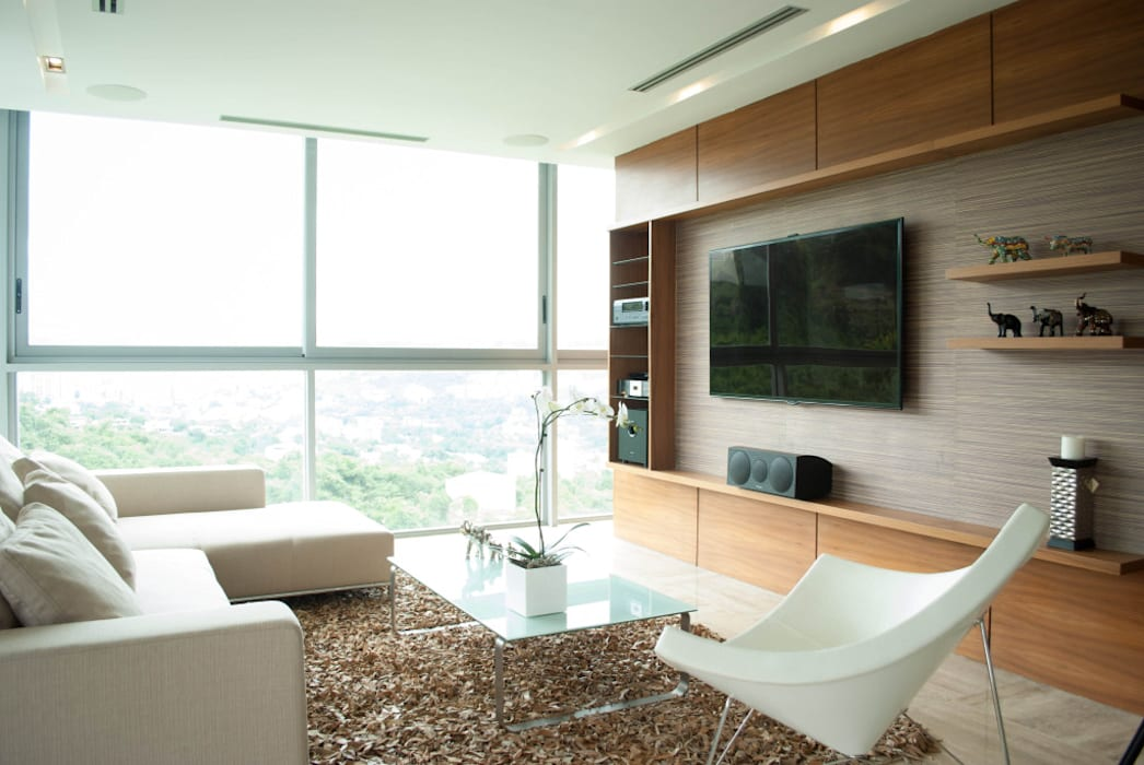VODO Arquitectos Modern Living Room