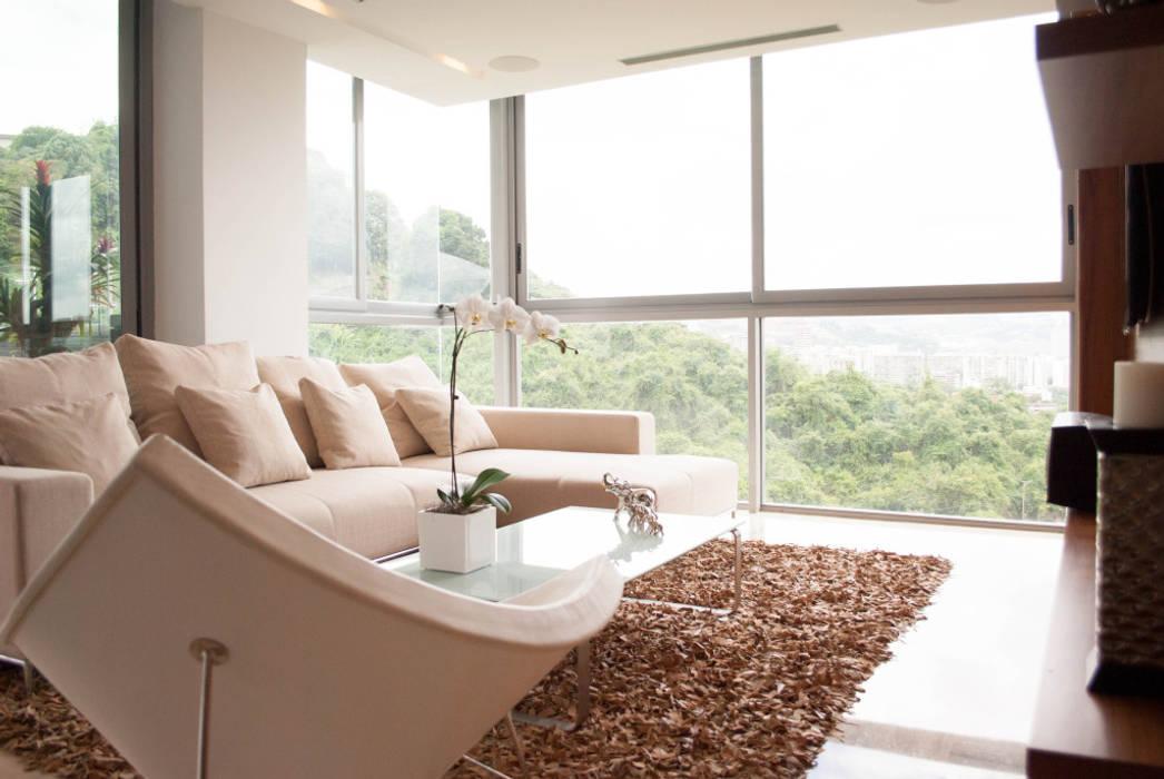 PH Altozano: Salas / recibidores de estilo  por VODO Arquitectos