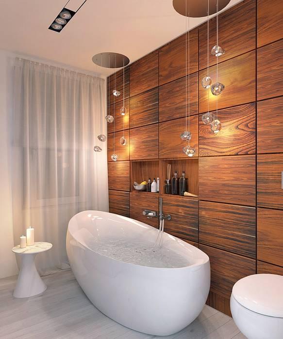 Bathroom by 1+1 studio, Minimalist