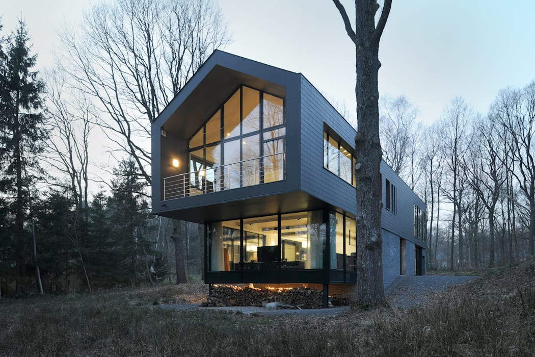 Moderne Häuser von Luc Spits Architecture Modern