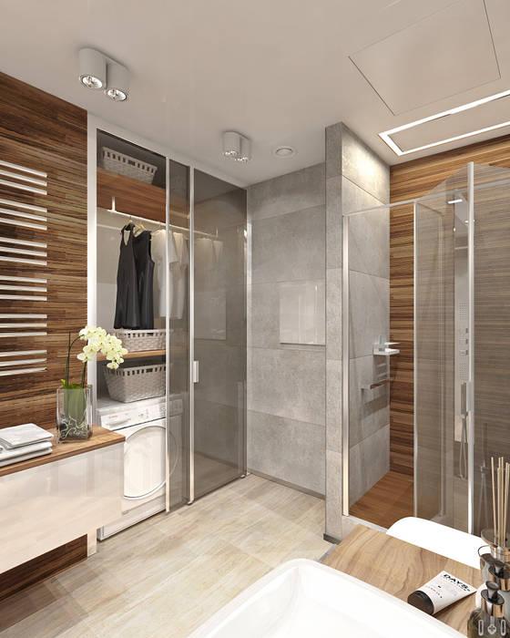 Minimalist bathroom by 1+1 studio Minimalist