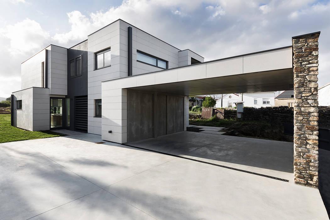 AD+ arquitectura Single family home Stone Beige