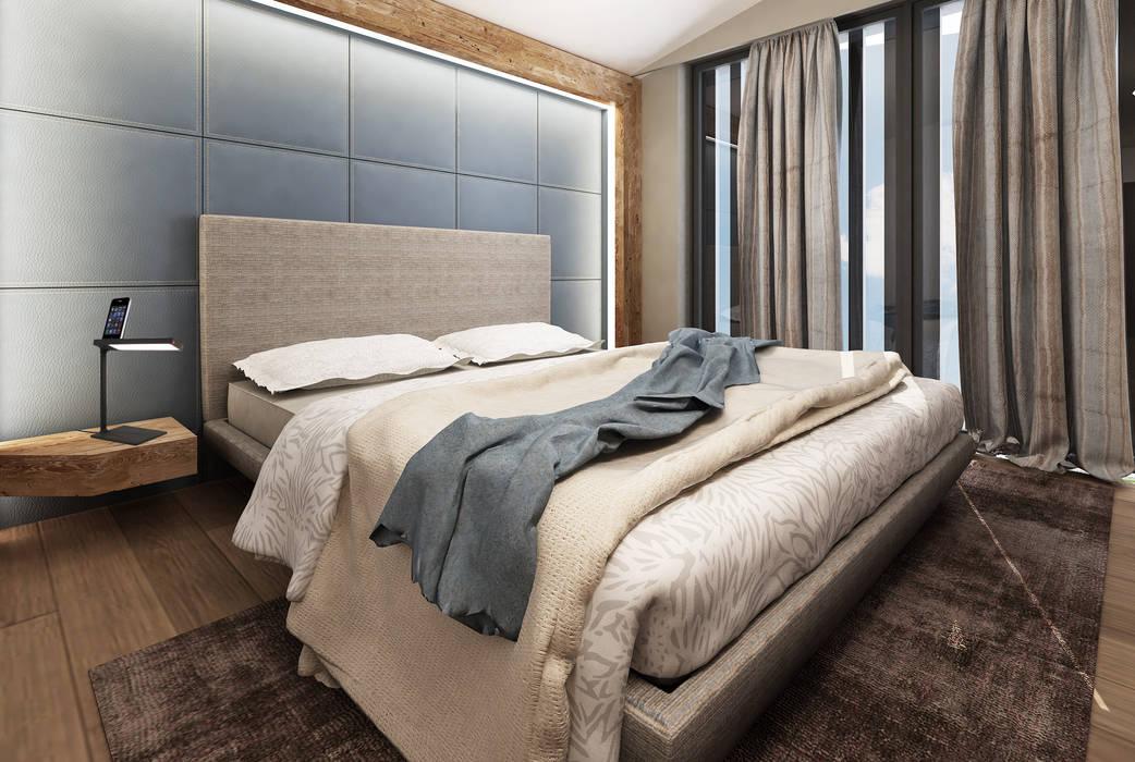 Camera Da Letto Stile Country : Rendering interni stile rurale: camera da letto in stile in stile